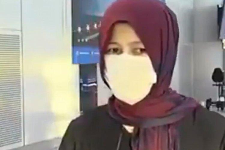 Kabil'den tahliye edilen kadın Taliban'ı övdü