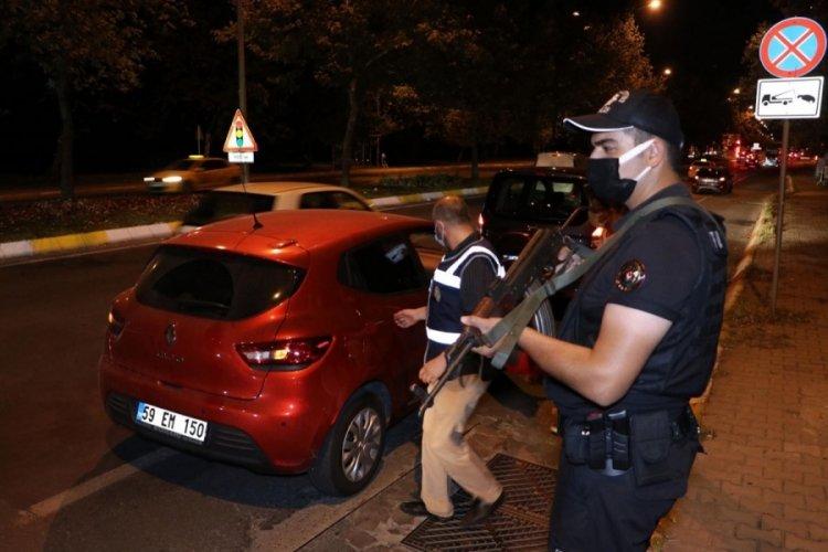 Tekirdağ'da polisten 'huzur' uygulaması: 43 gözaltı