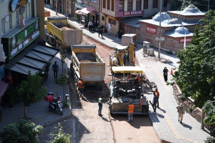 Bursa Kestel Belediyesi'nden asfalt mesaisi