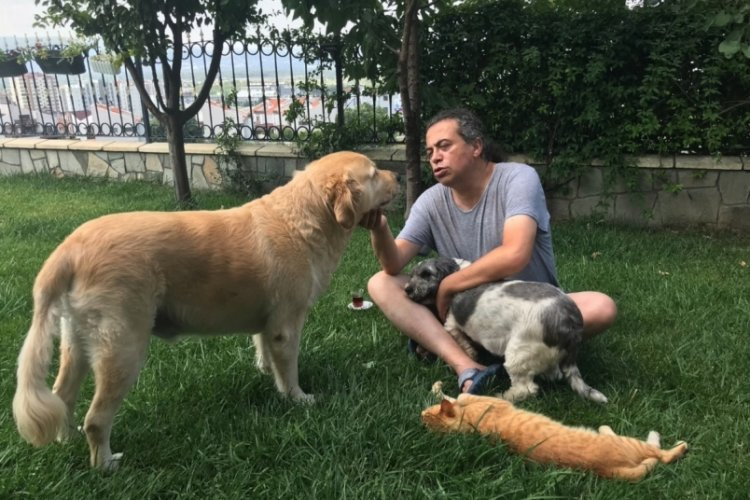 Bursa'da kaybolan kedisinin anısına özel tasarımlı ukulele üretti