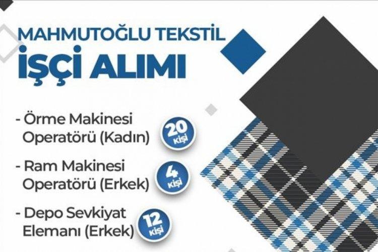 Bursa İnegöl'de istihdama katkı!