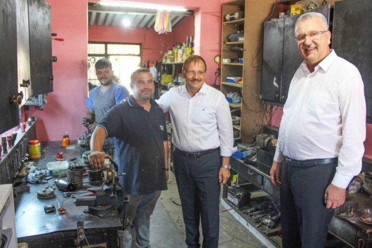 Bursa Karacabey'de verimli görüşmeler