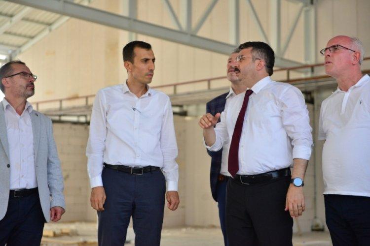 Bursa Millet Mahallesi kapalı pazar alanı açılmaya gün sayıyor