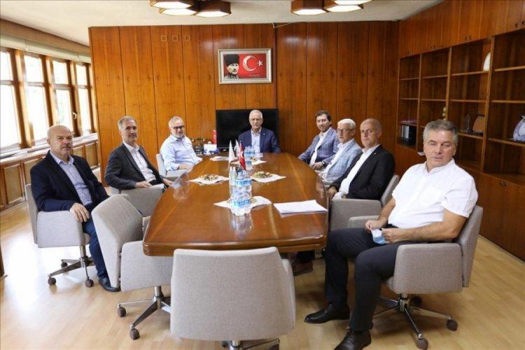 Bursa Milletvekili Aydın'dan İnegöl ziyareti