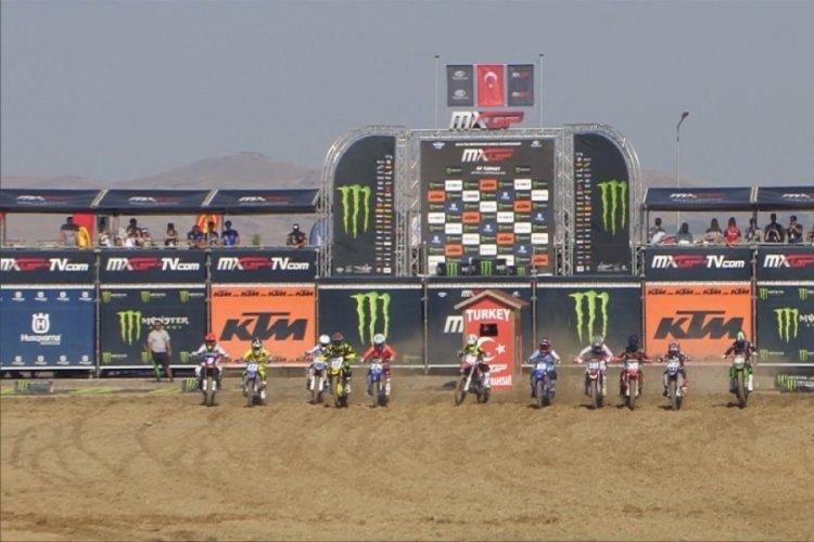 Dünya Motokros Şampiyonası'nda yarışacak sporcular Türkiye'de olmaktan mutlu