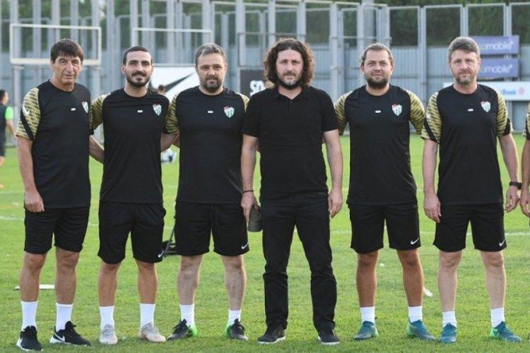 Bursaspor, Fatih Tekke ile ilk antrenmanına çıktı
