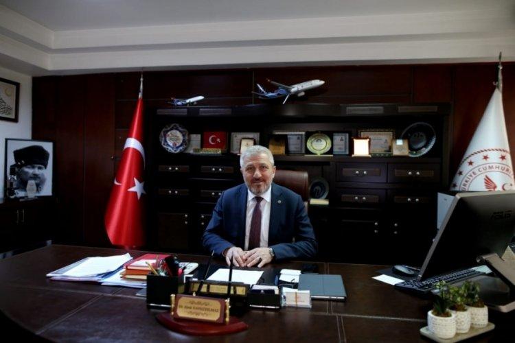 Bursa İl Sağlık Müdürü Yavuzyılmaz: Bursa'ya mavi çok yakıştı