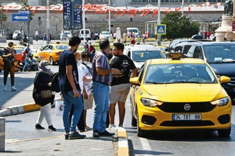 Taksici krizinin nedeni plaka ağalığı