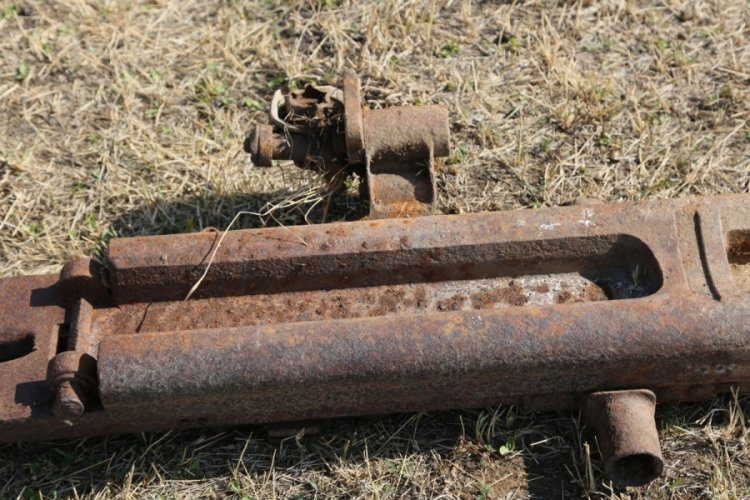 Birinci Dünya Savaşından kalma top parçaları rastlandı
