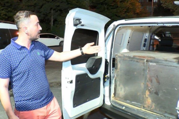 İstanbul'da hırsızlara isyan eden kişiler araçlarına çelik dolap yaptırdılar
