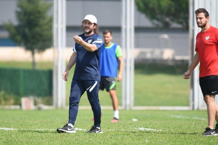 Bursaspor, Eyüpspor maçı hazırlıklarına devam etti