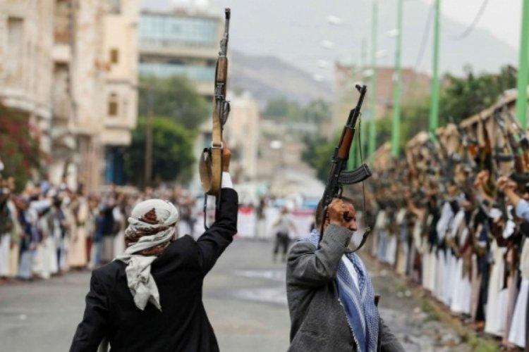 Yemen'deki Husilerin Suudi Arabistan'a gönderdiği İHA düşürüldü