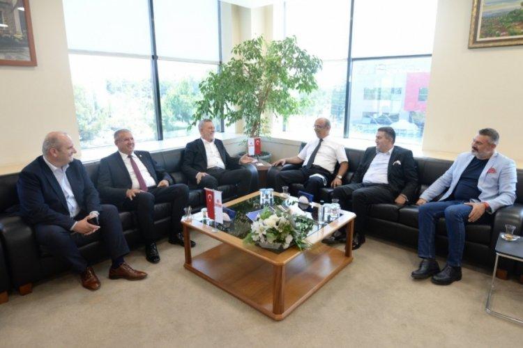 Bursa'da Kalite Birliği Derneği, BTSO'yu ziyaret etti