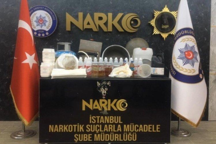 İstanbul'da düzenlenen operasyonlarda çok sayıda uyuştucu ele geçirildi