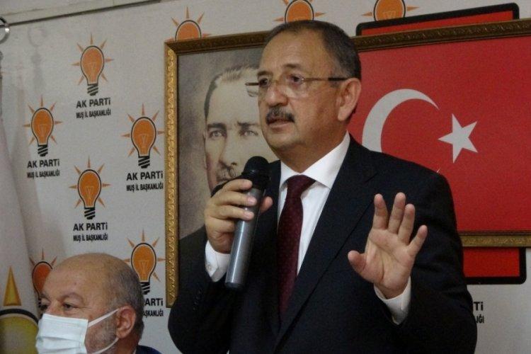 AK Parti Genel Başkan Yardımcısı Özhaseki, Adıyaman'da muhalefete yüklendi