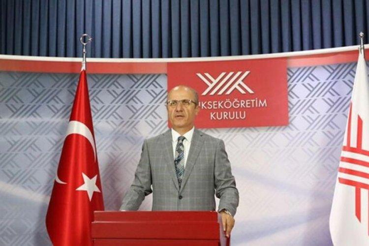 YÖK Başkanı Özvar'dan Ankara'da önemli toplantı!