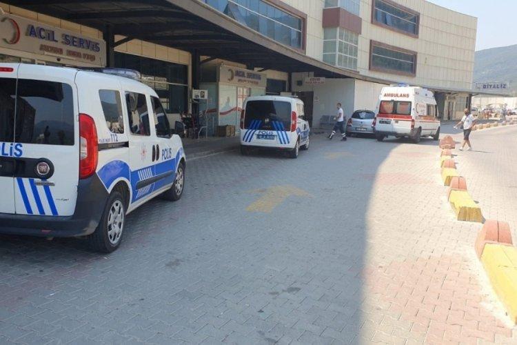 Bursa'da psikiyatri kliniğinde dehşet: 2 yaralı