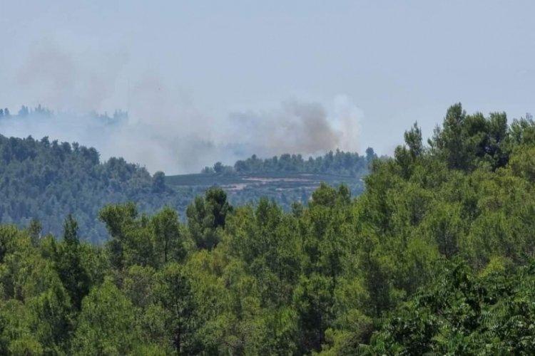 Kudüs'te çıkan orman yangınını söndürme çalışmaları devam ediyor