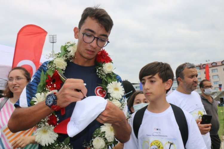 Mlli sporcu Mete Gazoz, Ordu'da