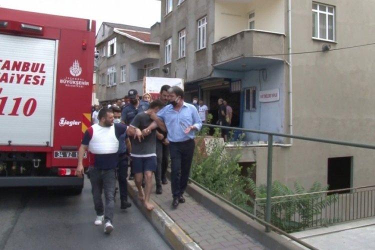İstanbul'da bir şahıs 5 aylık bebeğini rehin aldı
