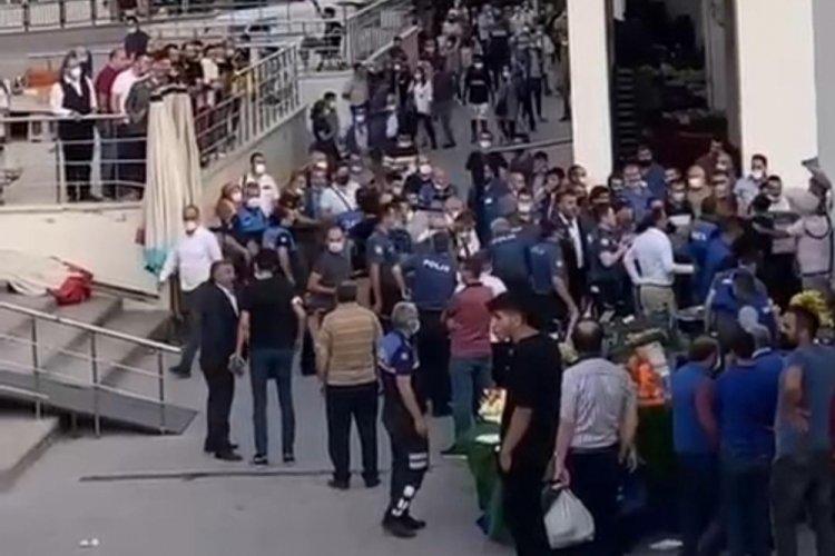 Ankara'da şeftali kavgasında 4 şüpheli adli kontrolle serbest!