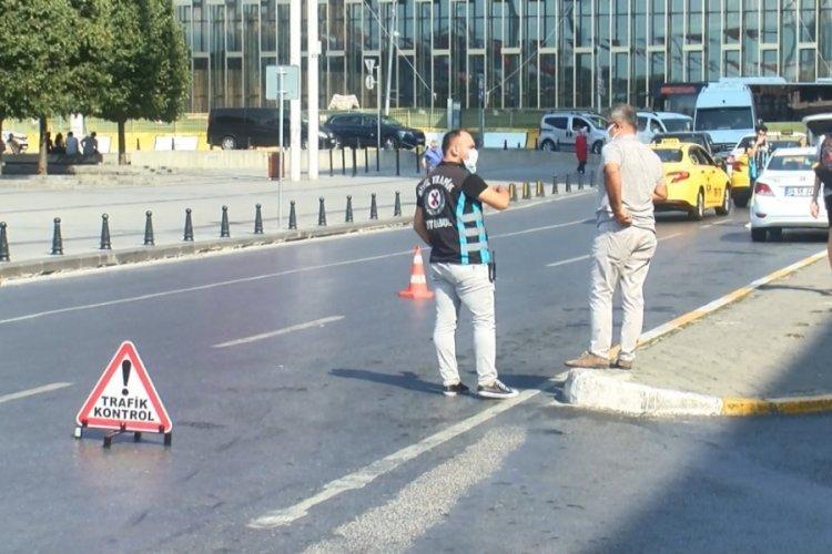 Polis müşteri kılığında: Kısa mesafe almayan ve müşteri seçen taksicilere ceza kesildi