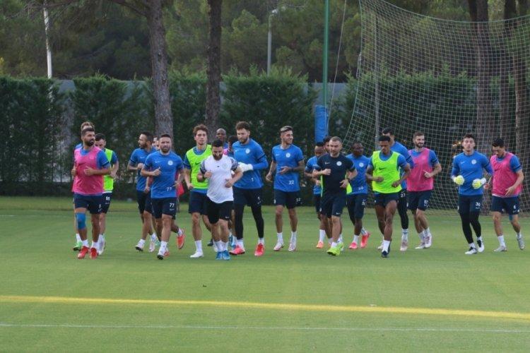 Çaykur Rizespor, Antalyaspor maçına hazırlanıyor