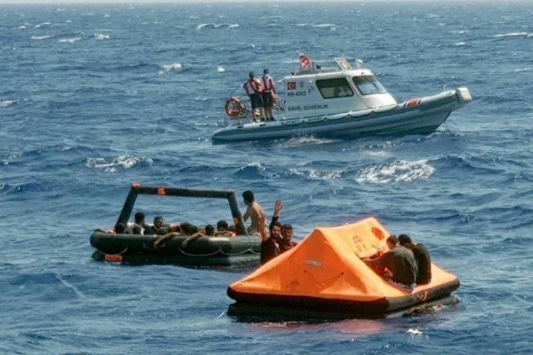 Bodrum açıklarında 38 göçmen kurtarıldı