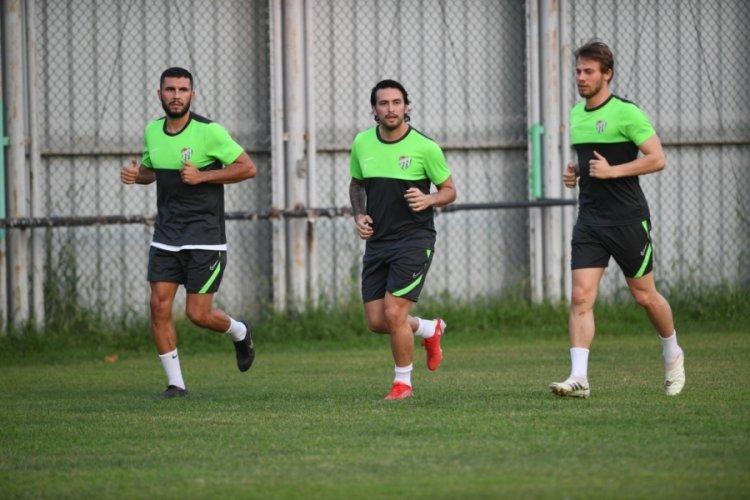 Bursaspor, Eyüpsor maçı hazırlıklarını sürdürdü