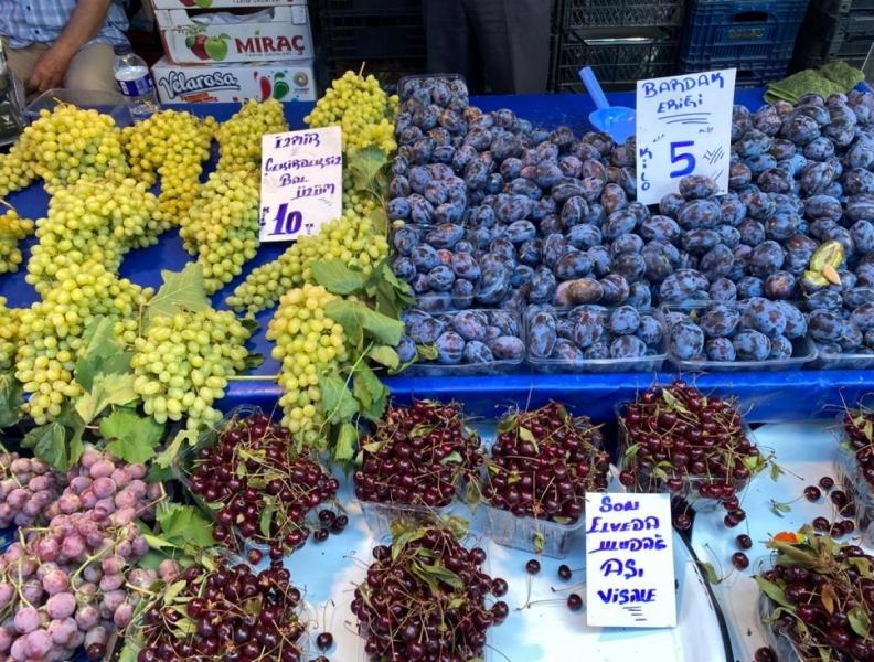 Bursa meyve tezgahlarında fiyatlar arttı! (ÖZEL HABER)