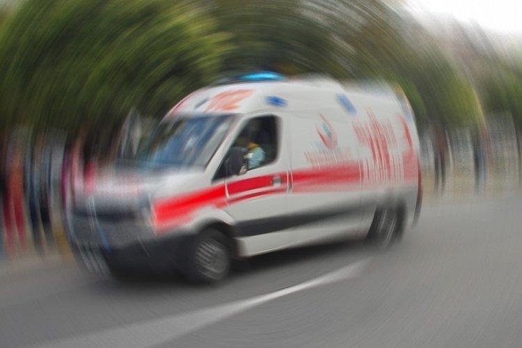 Bursa'da traktörden düşen çocuk yaralandı