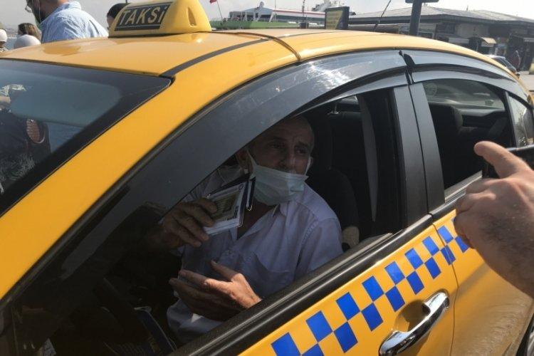 Ceza yiyen taksiciden ilginç açıklama: Kesinlikle hak ediyoruz!