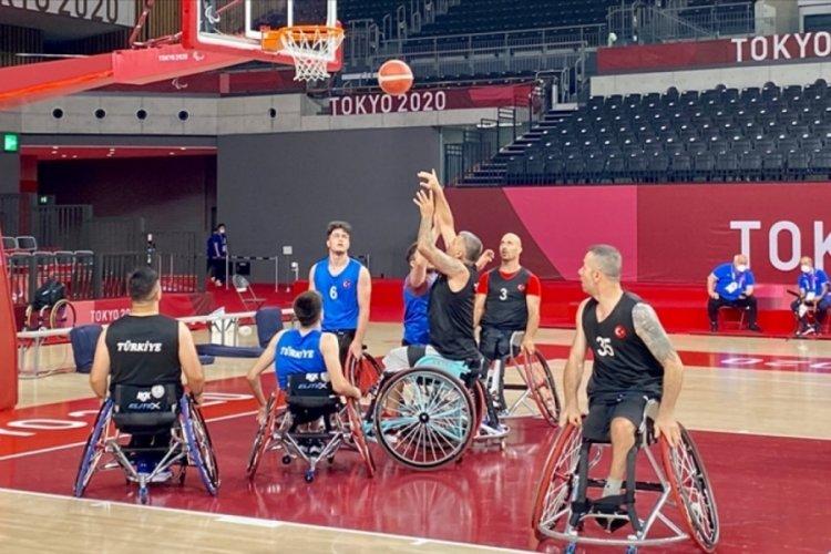 Tekerlekli sandalye basketbolda Türkiye, Güney Kore'yi mağlup etti