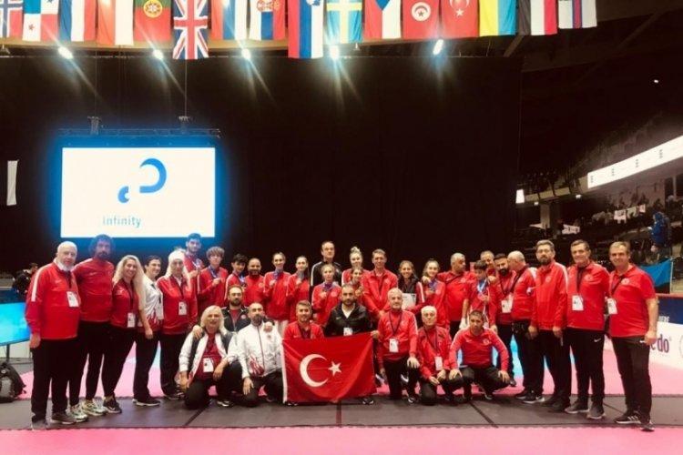 Avrupa Şampiyonası'nda 10 madalya