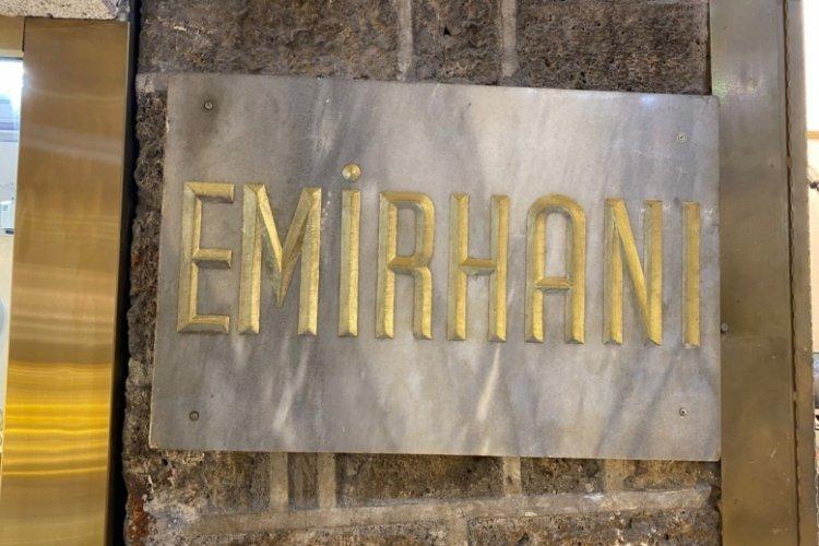 Bursa'nın saklı bahçesi: Emir Han (ÖZEL HABER)