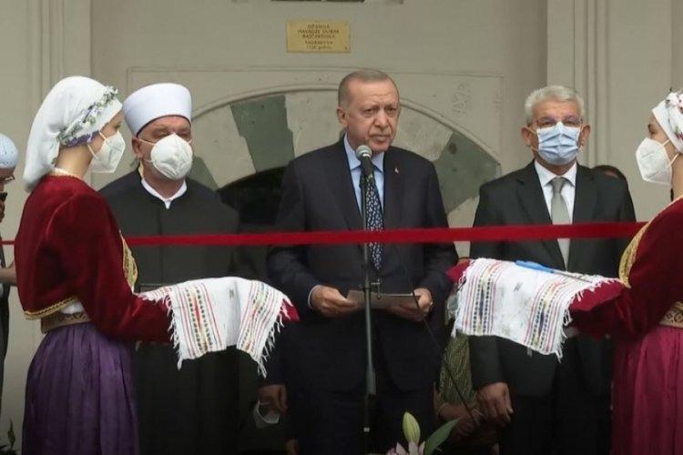 Cumhurbaşkanı Erdoğan Bosna Hersek'te cami açılışını gerçekleştirdi