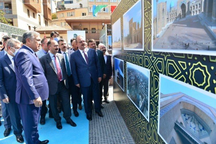 Bursa Yıldırım'dan Özbekistan'a gönül köprüsü
