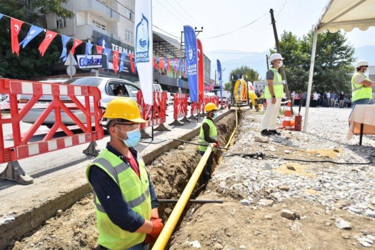 Bursa'da doğal gaz hasreti bitiyor