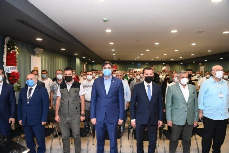 Tüm İtfaiyeciler Birliği Derneği'nin 12. Olağan Genel Kurulu Balıkesir'de gerçekleştirildi