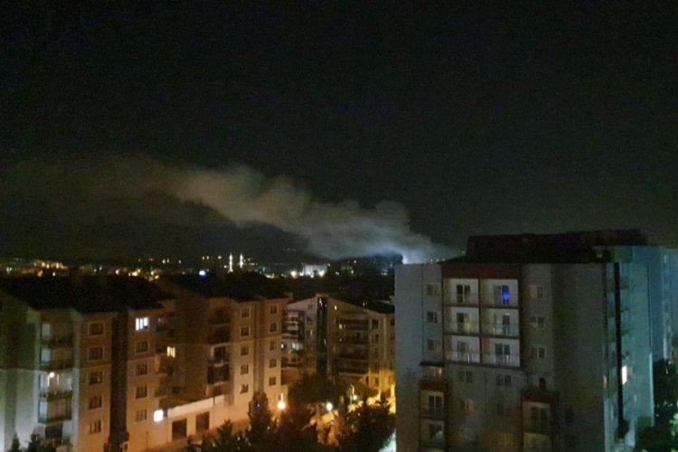 Bursa'da patlama sesi! Fabrikada yangın çıktı