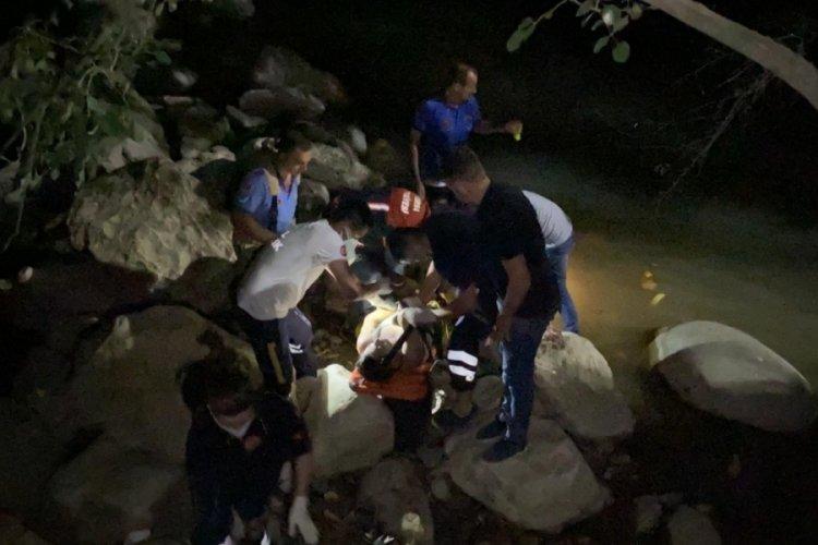 Bursa İnegöl'de şelaleden düşen kişi boğuldu