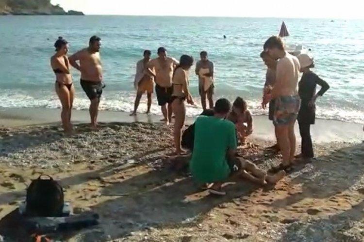 Fethiye'de bir turist denizde boğuldu