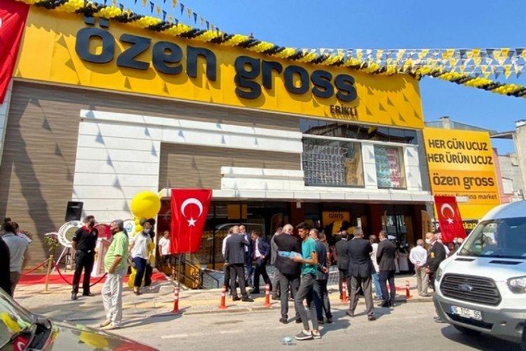 Bursa'nın en ucuz marketi Özen Gross 2'nci Erikli'de şubesini açtı