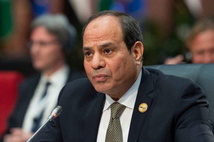 Mısır Cumhurbaşkanı ile Katar Emiri bir araya geldi