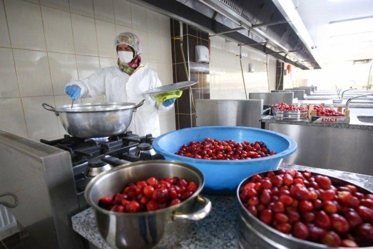 Bursa Nilüfer'de kadınlar bostan için mutfağa girdi
