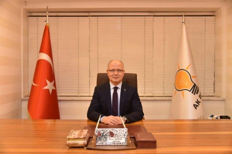 AK Parti Bursa İl Başkanı Davut Gürkan'dan 30 Ağustos mesajı
