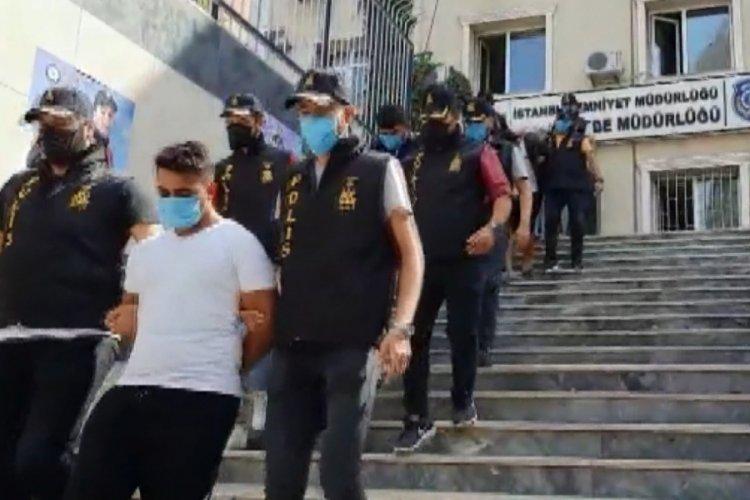 İstanbul'da 5 milyonluk hırsızlık yapan çete çökertildi
