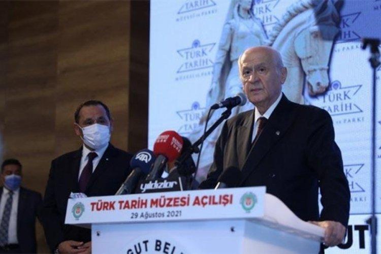 MHP lideri Bahçeli'den Kabil açıklaması