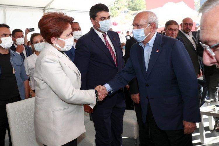 Kılıçdaroğlu ve Akşener, Mamak'ta bir araya geldi