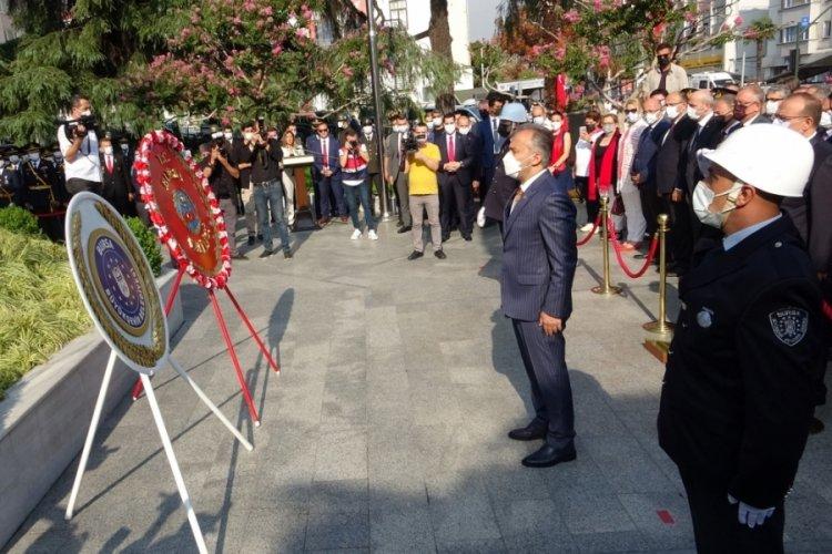 Büyük zaferin 99. yılında Bursa'da 'Zafer Bayramı' coşkusu